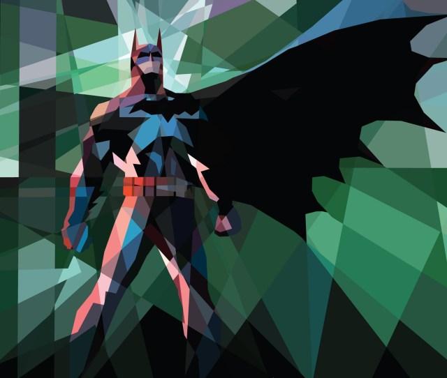 Batman_comics_superheroes_ipad_low_poly_x