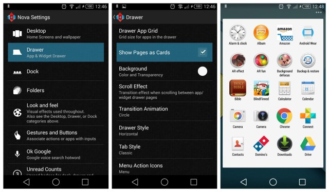 Latest Nova Launcher Beta adds Lollipop-style app drawer cards and animation [DOWNLOAD] – Phandroid