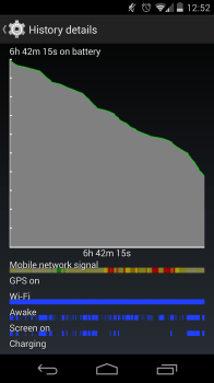 chris battery life