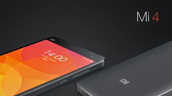 Xiaomi officially announces the Mi 4