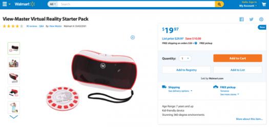 Mattel View-Master VR discount