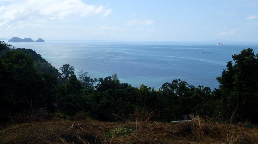 Koh Phangan west coast best sea view land for sale #3