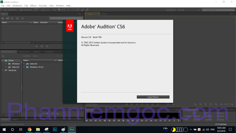 Download Adobe Audition CS6 Full Crack + Portable | Link Google Drive