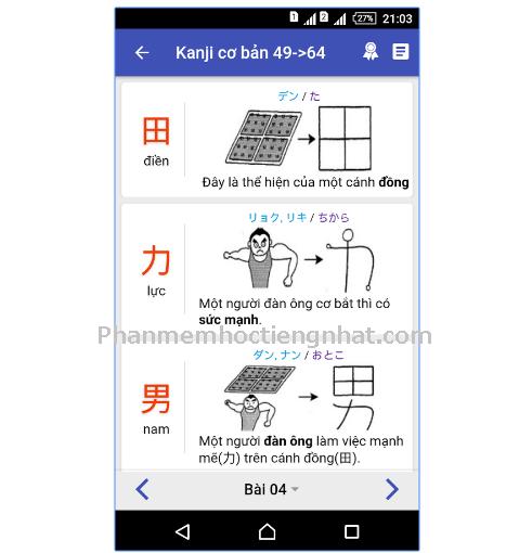 Phần mềm học tiếng Nhật - App học tiếng Nhật Mina no Nihongo hay cho Androi 2