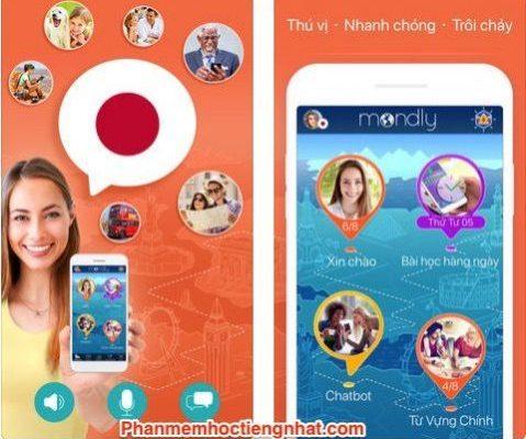 App Học Tiếng Nhật – Mondly bài bản khoa học từ cơ bản đến nâng cao
