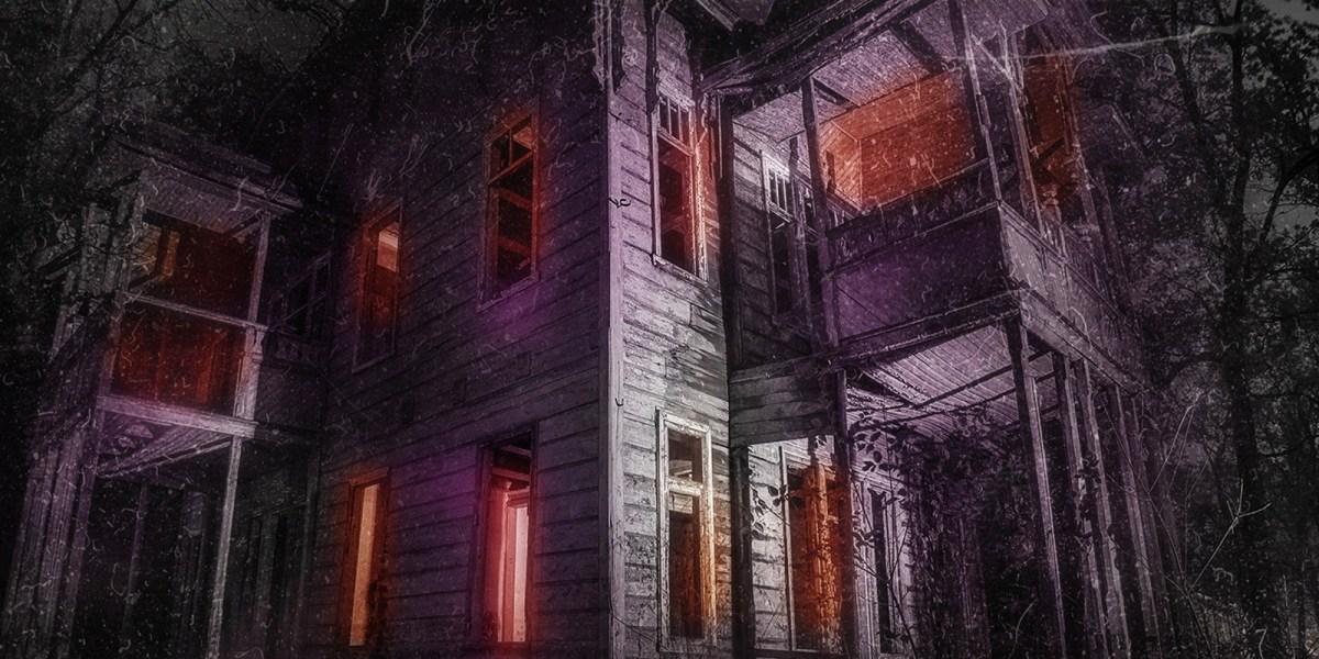 Soul Eater house from Dana Brookins' horror novel