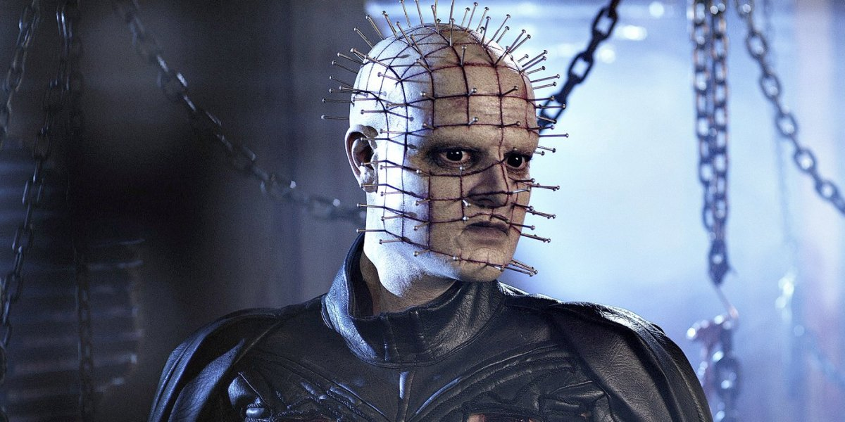 "Cenobite Pinehead in in ""Hellraiser:Revelations"""