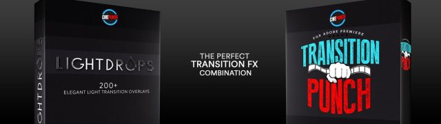 CINEPUNCH (BUNDLE) - Transitions I Color LUTs I SFX - 18 PACKS - 9999+ Assets - 126