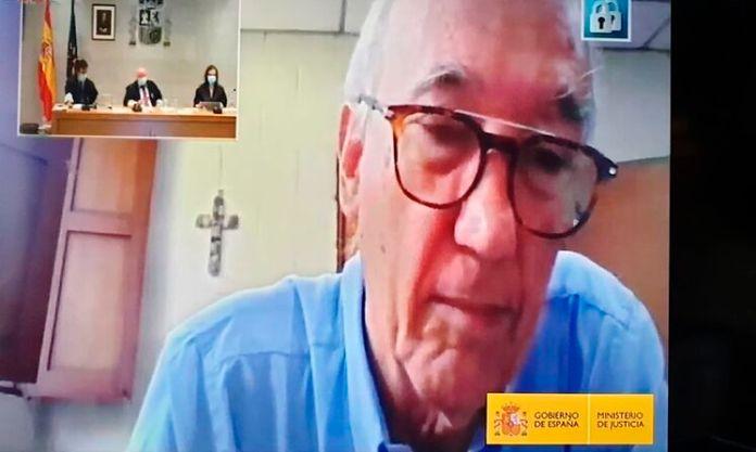El superior provincial de los jesuitas en Centroamérica, José María...