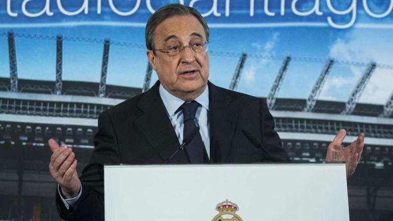 """Superliga Europea: Florentino Pérez, primer presidente de la Superliga:  """"Nuestra responsabilidad como grandes clubes es responder a los deseos de  los aficionados""""   Marca"""