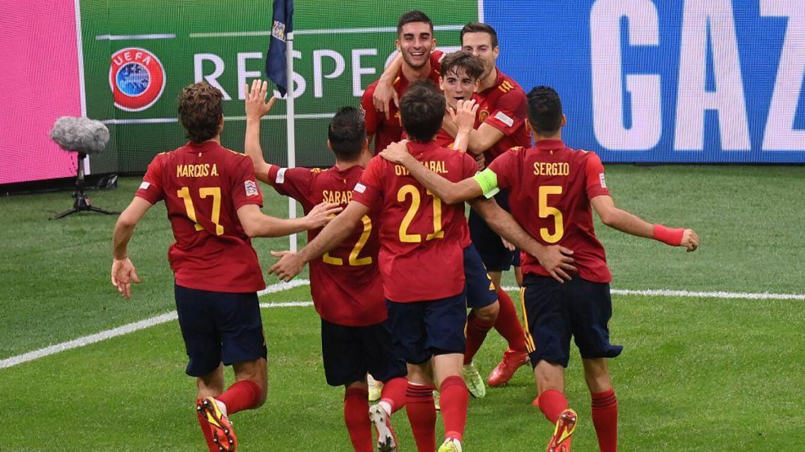 Italia vs España: España termina con el invicto de 37 partidos de Italia y avanza a la final de la UEFA Nations League | Marca