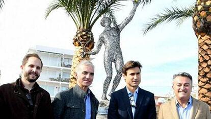 Resultado de imagen para david ferrer ya tiene su estatua