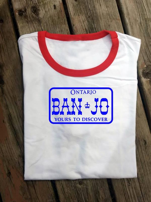 BNJS001, Banjo Ontario License Plate