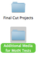 Additional Media Folder