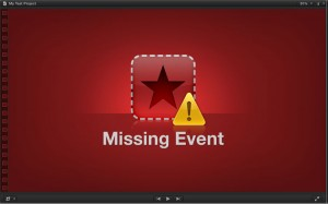 Missing Event Error