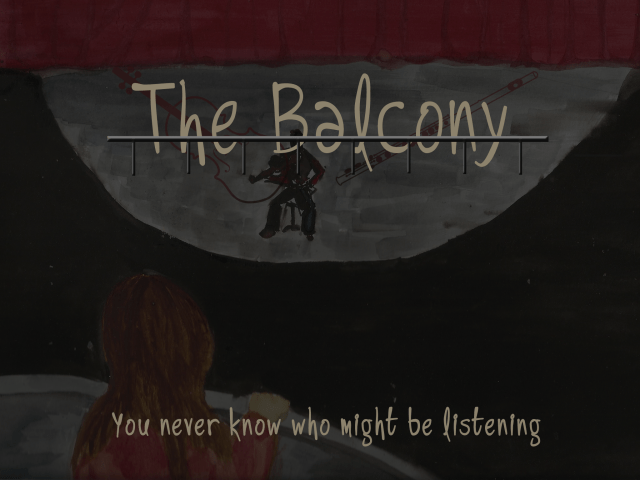 Balcony Logo with art