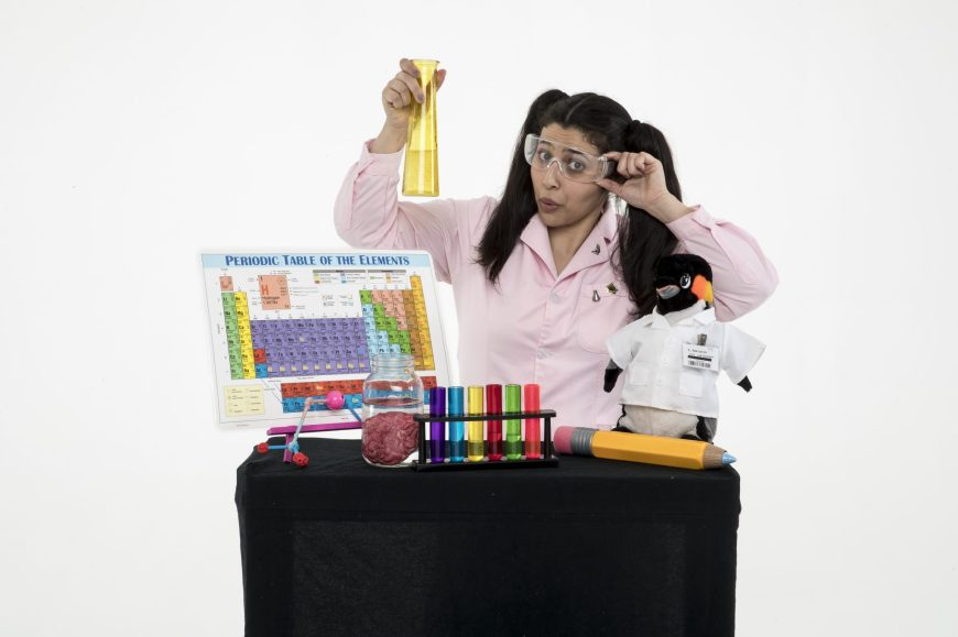 Jargie the Science Girl! - Chemical Reactions