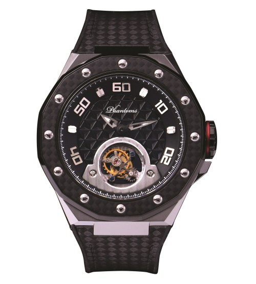 Phantoms Chaotic Shield Flying Tourbillon Mechanical Watch