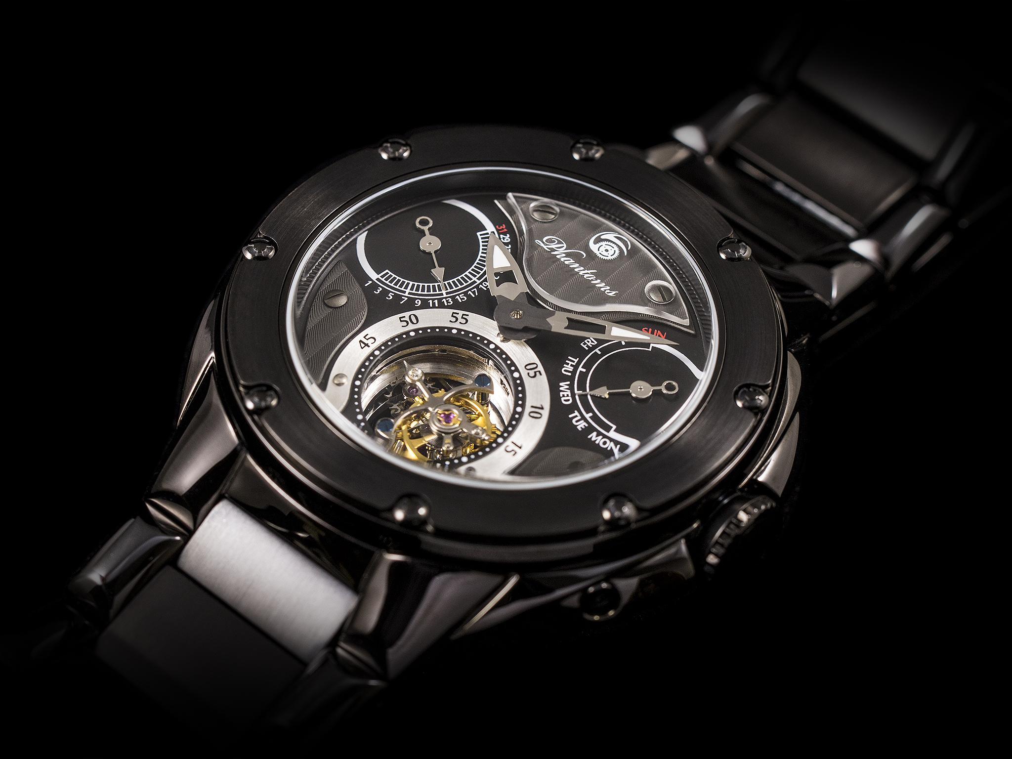 Phantoms Dark Soul Tourbillon Mechanical Watch