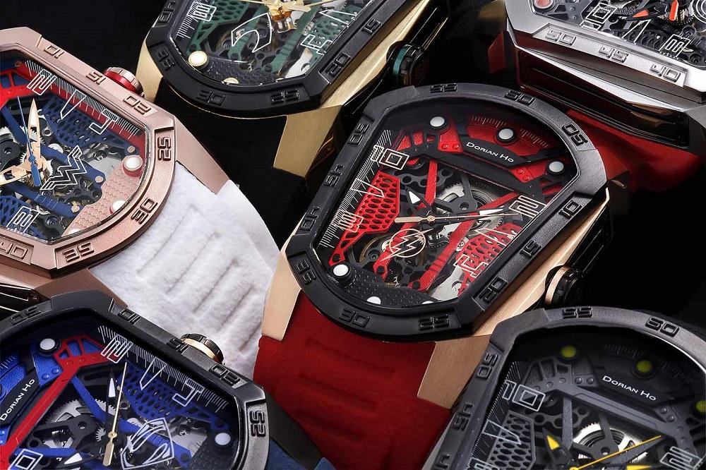wonderwomen justice league dorian ho collection phantoms collaboration super hero automatic mechanical watch