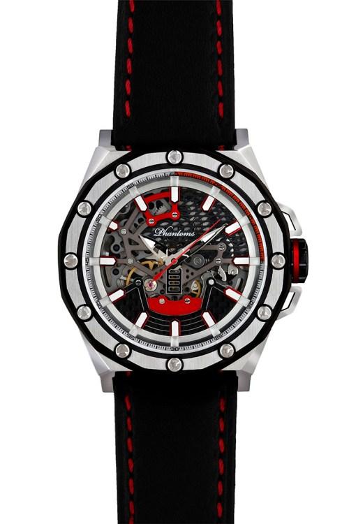 PHTW502-01 phantoms prophet boneyard automatic skeleton watch