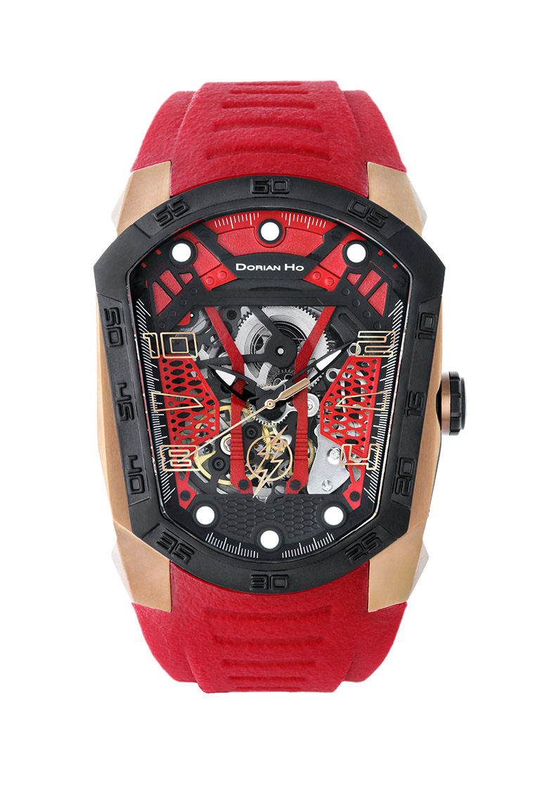 the flash justice league dorian ho collection phantoms collaboration super hero automatic mechanical watch