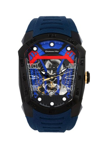 superman justice league dorian ho collection phantoms collaboration super hero automatic mechanical watch