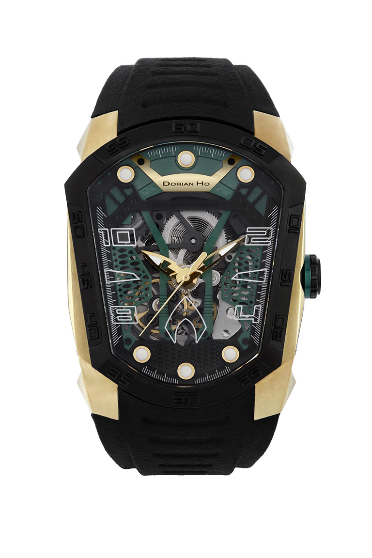 aquaman justice league dorian ho collection phantoms collaboration super hero automatic mechanical watch