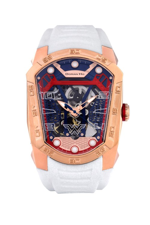 wonderwomen justice league dorian ho collection phantoms collaboration super hero automatic mechanical watch