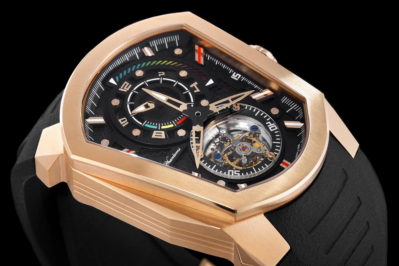 godly speedforce mechanical watch white automatic watch phantoms tourbillon rosegold