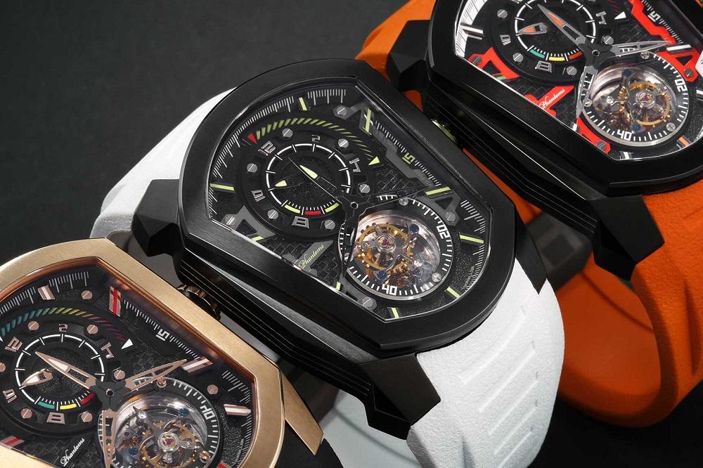 phantoms tourbillon watch mechanical watch phantoms lab watch