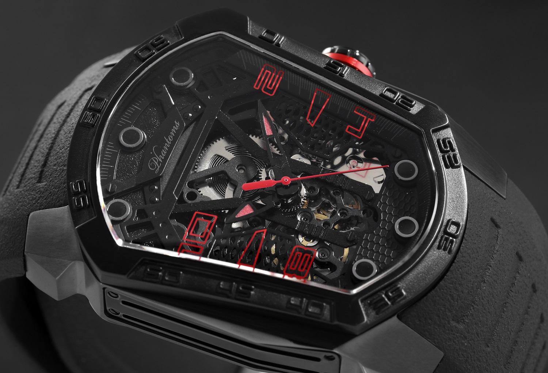 Raging Blade Automatic Mechanical Watch Futuristic Mens Watch Best Microbrand