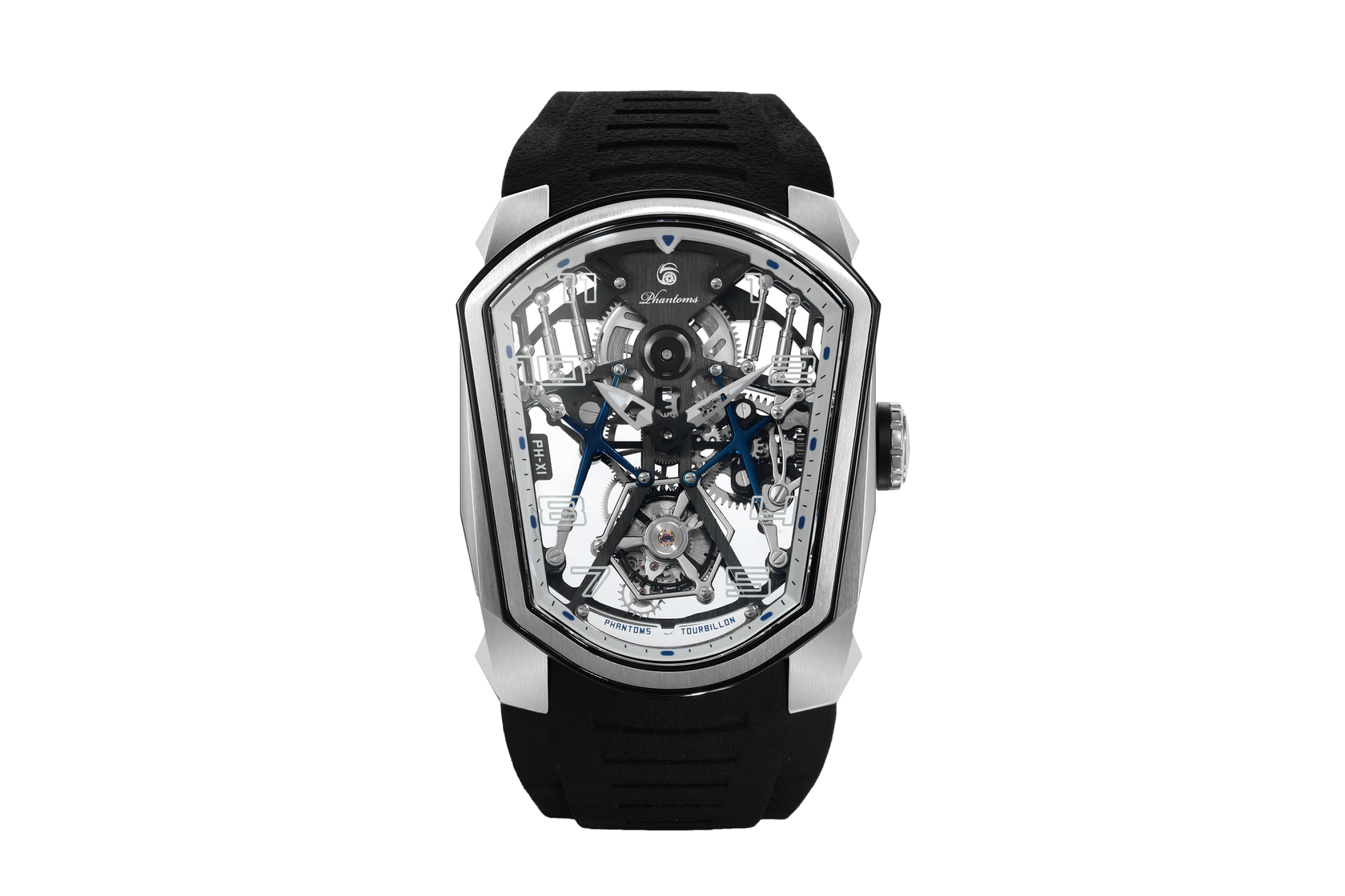 azure palace phantoms tourbillon chinese tourbillon skeletonized watch