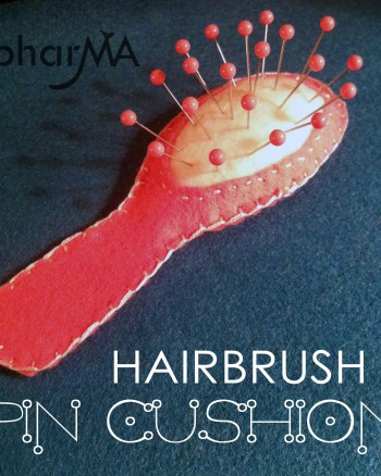 Hairbrush Pin Cushion