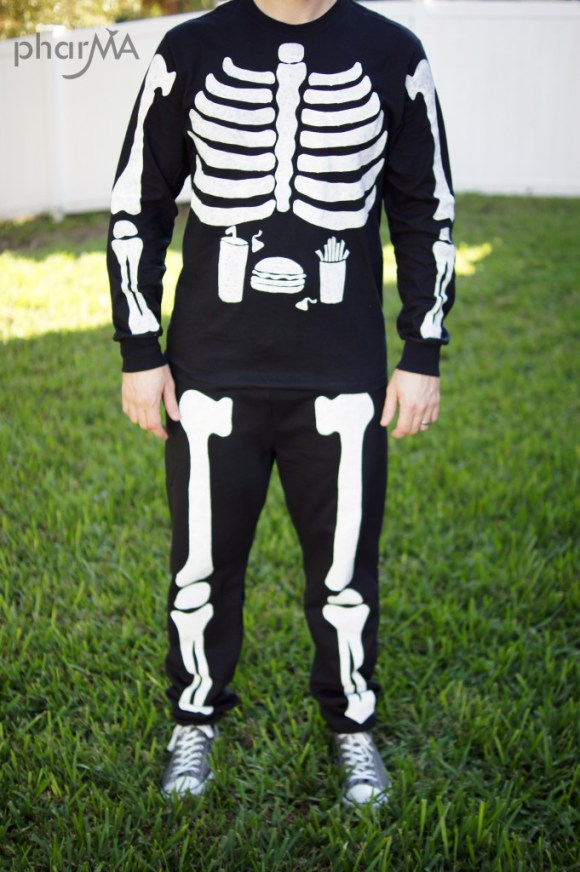 Family Halloween Skeleton Costumes