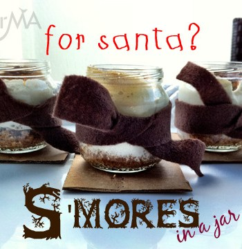 Santa's S'Mores (in a jar)