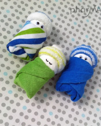 Diaper Babies, How to make diaper babies
