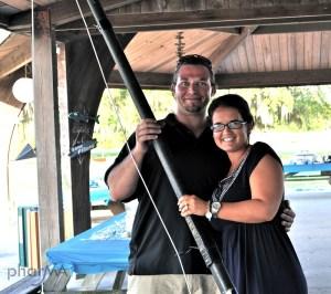 DIY Giant Fishing Pole