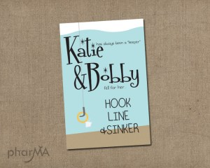 Hook Line & Sinker Invitation Couples Shower