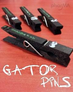 Gatorpins, Alligator Clothespin