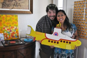 The Beatles Couples Baby Shower