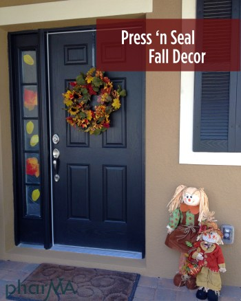Easy Press 'N Seal Fall Decor