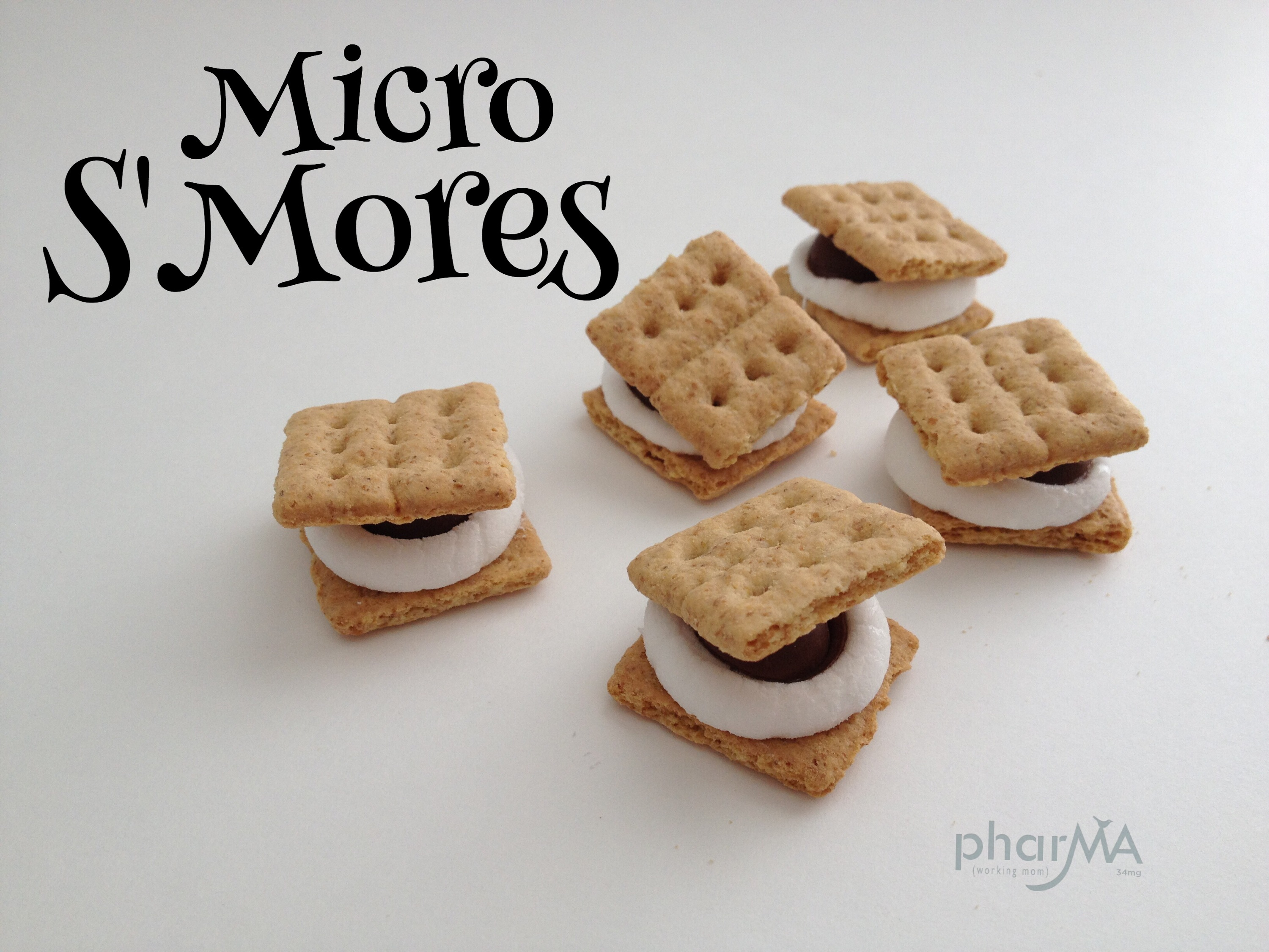 how to make mini microwavable s'mores