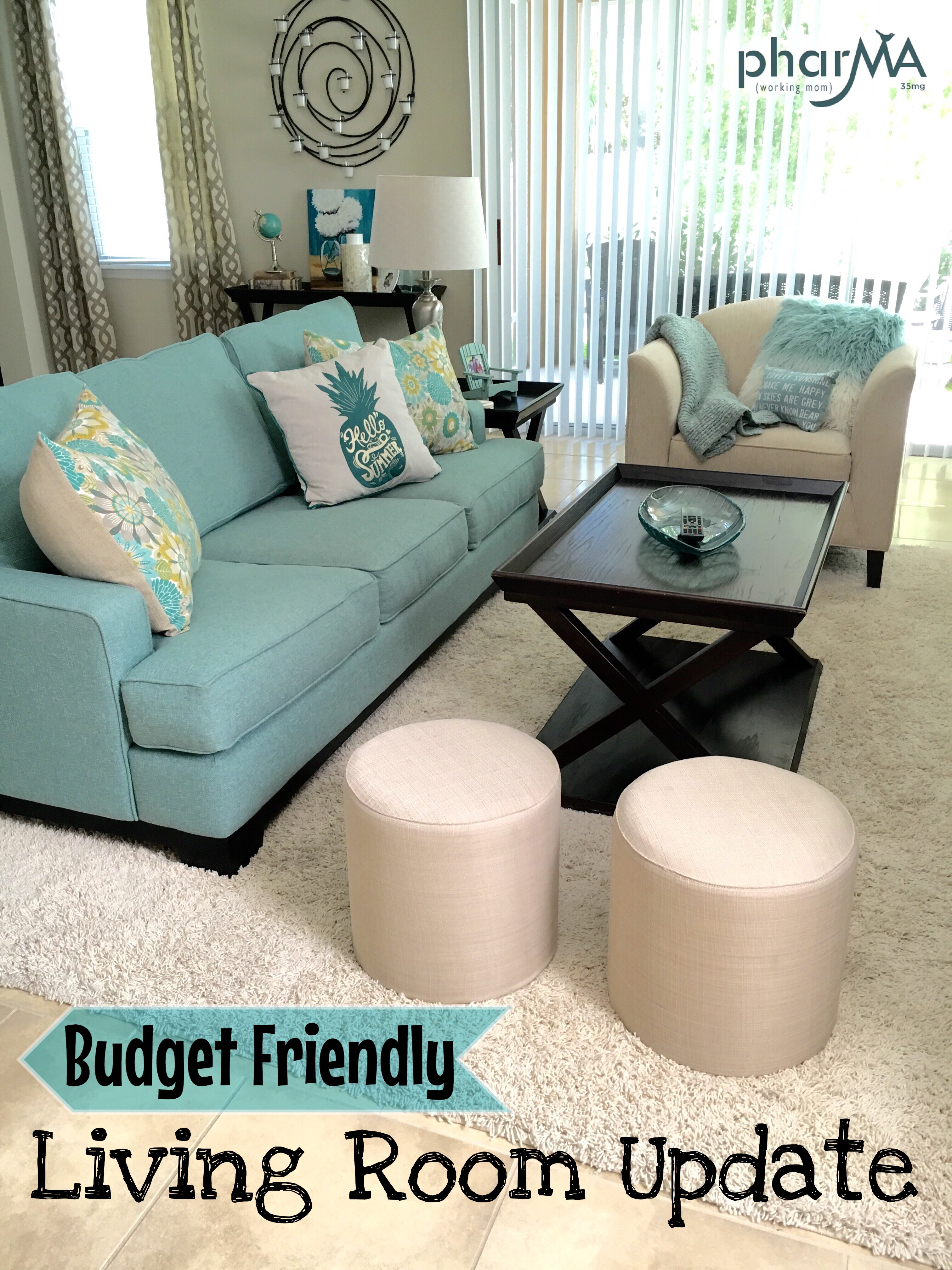 quick and easy living room makeover, Christopher Lowell 7 layers of design, throw pillows, living room design ideas, beach chic design