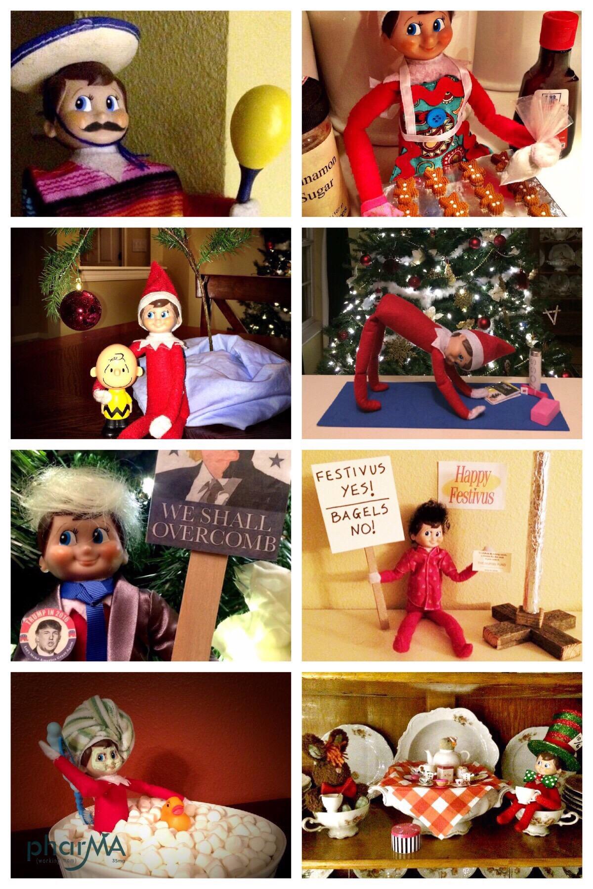 #elfwars, #elfwars2016, Elf on the Shelf Ideas, Jingle, Sparkle