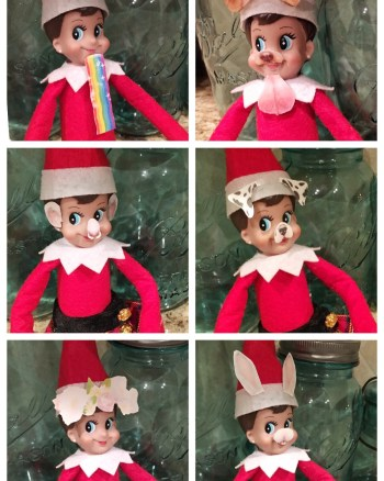 Elf Snapchat Printable