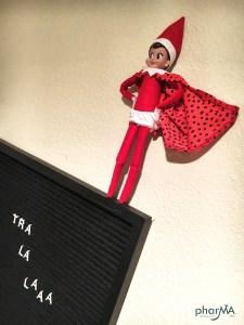 Elf on the Shelf Ideas, DIY Letter Board
