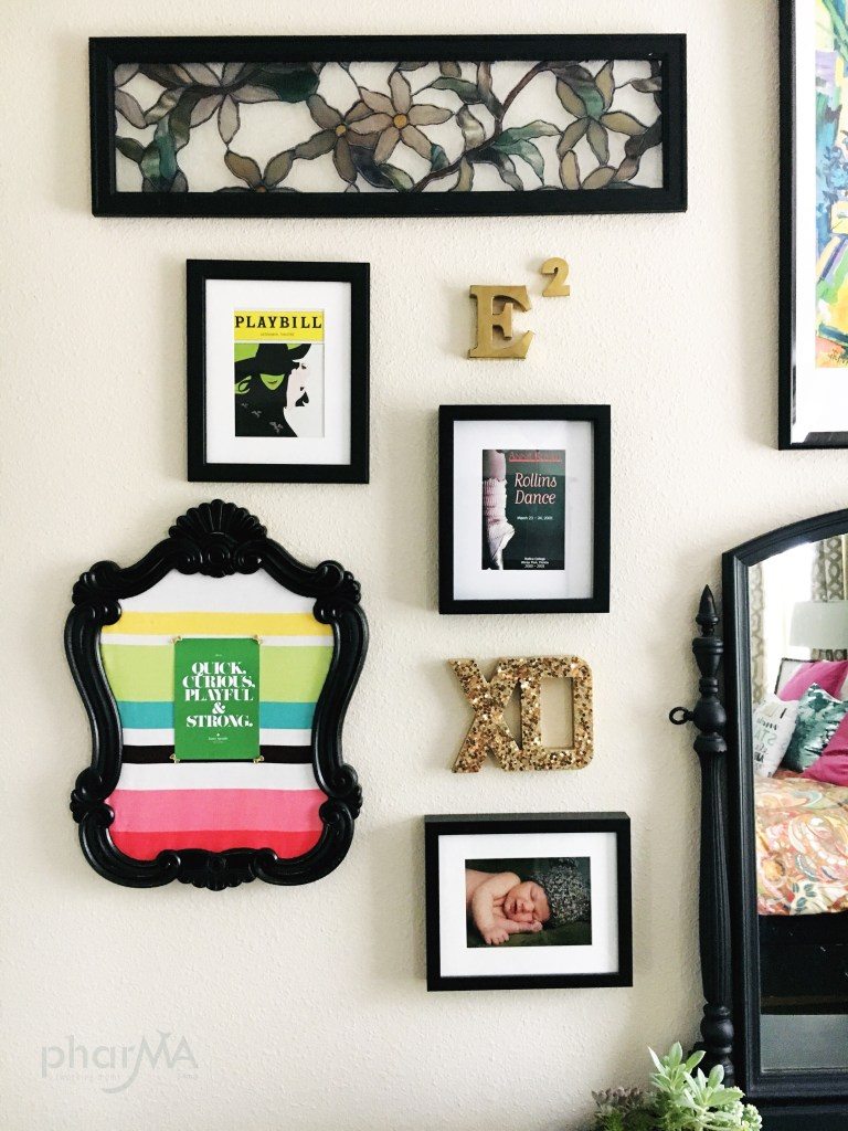 Easy Stained Glass Art, DIY Gallery Wall
