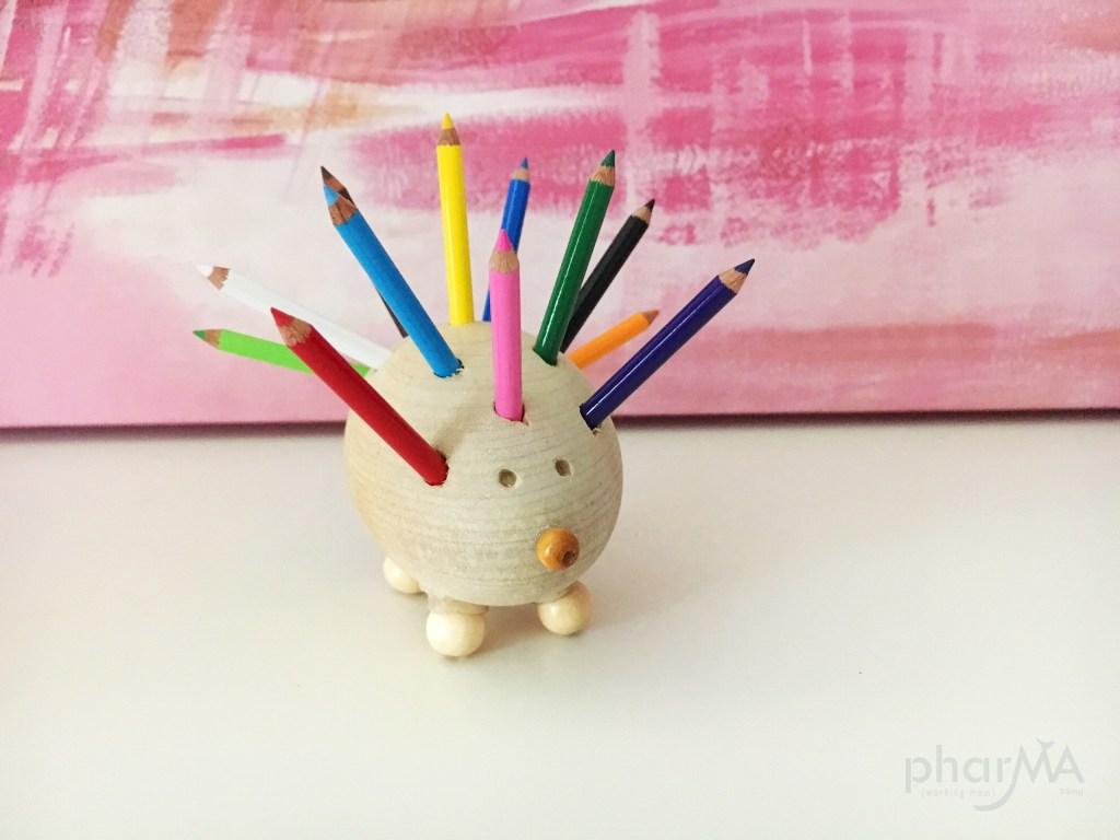Hedgehog Crafts, DIY Hedgehog Pencil Holder, Cute Mini Pencil Holder, Hedgehog Lovers