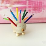 How to Make a Hedgehog Pencil Holder